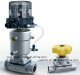 Multi-Port droit pneumatique manuel aseptique de bidon d'acier inoxydable de soupape à diaphragme