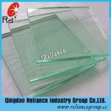 Tipo claro del vidrio de flotador y vidrio sólido del claro de la estructura
