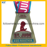 Пожалование металла марафона для медали сплава победителя/цинка для фертига-аппарат