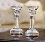 K9 supporto di candela di cristallo delle orecchie del cristallo 3 per la decorazione domestica