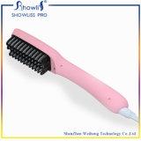 PTC iónico que calienta el peine eléctrico del pelo que se endereza