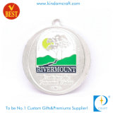 Медаль пожалования сувенира спорта промотирования OEM/ODM изготовленный на заказ серебряное