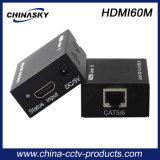 prolongamento video do sistema do CCTV de 60m sobre Cat5e/6 (HDMI60M)