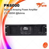 Pk6000 Amplificador de sonido sólido Amplificador de potencia profesional AMP