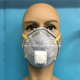 Masque remplaçable de respirateur de garantie d'anti virus avec le carbone et la soupape