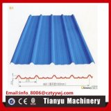 Trapezoides Stahlprofil-Dach-Blatt, das kalte Formungs-Maschine 860 rollt