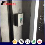 2017 Telefone sem fio Telefone SIP Telefone para elevador Telefone Knzd-03 LCD Waterproof Sos Emergency