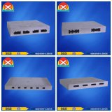 Wasser-kühler Aluminiumstrangpresßling-Kühler