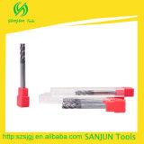 herramientas estándar largas de las fresas del CNC del molino de extremo de la longitud de la lámina de 6m m para el CNC
