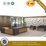 中国の現代MDFによって薄板にされる木の執行部の家具(HX-NT3259)