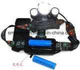 El alto zoom del CREE LED de Pwer ajusta la linterna de la batería recargable de la caza
