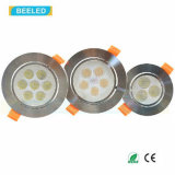 alta calidad blanca natural LED Downlight de Dimmable de la luz del punto 3W