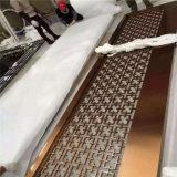Panels des Rosen-Goldfarben-MetallEdelstahl-3D für Wand-Umhüllung-China-Lieferanten