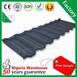 Folha revestida da telhadura da telha de telhadura da pedra do material de construção da alta qualidade