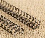 2017 Nylon Revêtu Twin Double Loop Wire Precut
