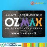 PVC MIFARE d'IDENTIFICATION RF de paiement de Cashless plus la carte de S 2K 4K