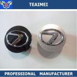 protezione di mozzo della rotella di marchio dell'automobile del ricambio auto dell'argento del bicromato di potassio dell'ABS di 62mm