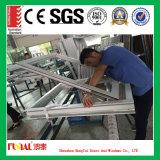 Toldo de aluminio de cristal doble ahorro de energía Windows