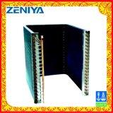 Heißer Verkaufs-kupfernes Gefäß-Aluminiumflosse-Kondensator für Industrie