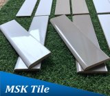 3X12 Glazed Gloss Porcelain Bullnose Tile