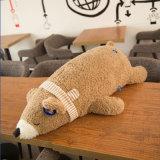 Giocattolo farcito giù riempito dell'orso polare del giocattolo della peluche
