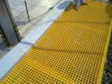 Огнезамедлительная решетка Pultruded стеклоткани