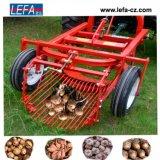 Una arrancadora de patatas de la máquina segador del ajo de la fila con Ce