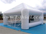 白く膨脹可能な立方体の泡テントのよい価格K5127の広告