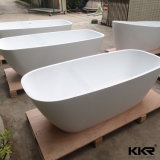 Vasche da bagno di pietra artificiali degli articoli della mobilia sanitaria moderna della stanza da bagno