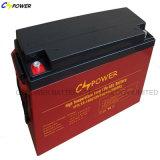 Batterie profonde de la batterie solaire 12V 120ah de gel de longue vie de cycle (HTL12-120)