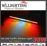 """31.5 """" 30 jogo da barra clara do estroboscópio do conselheiro do tráfego da intensidade elevada do diodo emissor de luz 30W"""