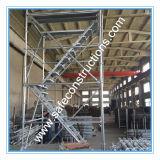 O GV seguro certificou o sistema do andaime para a construção