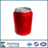 Großhandelsplastik 330ml kann mit Aluminiumkappe