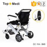 障害者のためのTopmediの経済的なCarriable折るアルミニウム電動車椅子