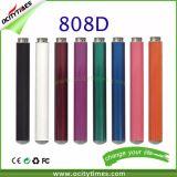 Cigarette de fumage électronique de vapeur de 808d préremplie par vente en gros 1.0ml