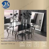 Insieme di marmo rettangolare quadrato della presidenza e della Tabella pranzante di mobilia