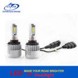 Produto todo da iluminação do diodo emissor de luz em um bulbo 8000lm do farol do diodo emissor de luz do farol S2 do diodo emissor de luz Hb3 da lâmpada 72W 9005 do carro do diodo emissor de luz auto