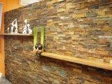 壁のクラッディングのための多色刷りのスレートの石のパネル