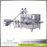 Sacchetto automatico della farina del mais che pesa macchina per l'imballaggio delle merci con il riempitore della coclea