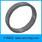 Ímãs magnéticos curvados do arco do Neodymium de NdFeB