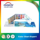 Carte de couleur d'impression personnalisée personnalisée