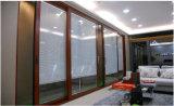 Portello solido placcato di alluminio resistente largo eccellente di legno di quercia del portello scorrevole dell'elevatore con 10 anni di esperienza