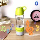 Mini bottiglia di acqua di plastica multifunzionale dell'altoparlante di Bluetooth
