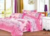 多Microfiberのキルトの枕寝具はファブリック高いウェイトをセットする