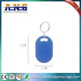 ISO14443 etiqueta dominante de encargo del control de acceso RFID Fob