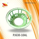Marco de aluminio verde del Pieza-Altavoz del altavoz de la cesta 10inch