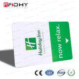 Карточка франтовской гостиницы Tk4100 125kHz RFID ключевая для контроля допуска двери