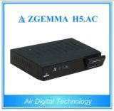 Original DVB-S2 + ATSC Hevc / H. 265 Sintonizadores Zgemma H5. AC Digital Satellite TV Box