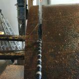 Civil lourd Using des scies de fil de découpage de diamant