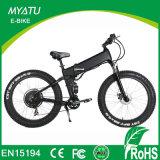 Land rover Suspention cheio que dobra a montanha gorda elétrica da bicicleta